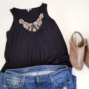 Jeweled Tank Tops